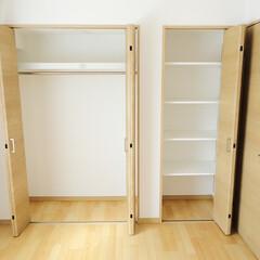 収納/クローゼット/棚 収納は使いやすさを考慮したクローゼット+…