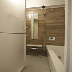 浴室/浴室・風呂 広くなりゆっくりと寛げるバスルームに。