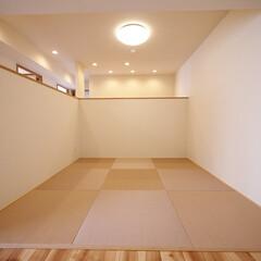 元和室/畳コーナー/リビング 元和室をオープンな畳コーナーにしました。