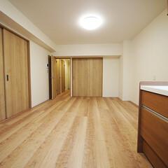 引き戸/個室/洋室/リビング 引き戸を閉めれば個室にも早変わり。