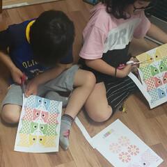 鯉のぼり製作/ペーパークラフト/こどもの日/ランドリーボックス 5月5日(祝・火) 子供たちとペーパーク…