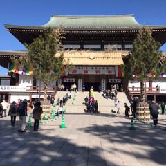 成田山 成田山に行ってきました ちょうど御護摩祈…(2枚目)