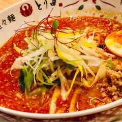 福岡県/2018/おでかけ/グルメ 博多へ行ってきました😊 お昼ご飯は担々麺…