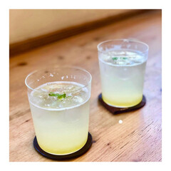 カクテル/冷たい飲み物選手権 パインのウォッカとソーダ割 夏には最高の…
