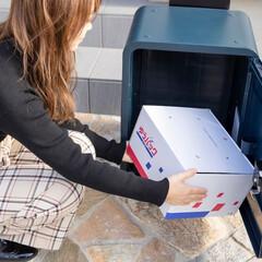 スマポ/宅配ボックス/便利/工事不要/通販/ネットショッピング/... 宅配ボックス、置いてみたいけれど設置方法…