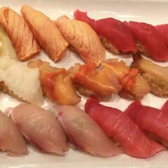 炙りサーモン/サーモン/食べ放題/お寿司/寿司/春のフォト投稿キャンペーン/... お寿司🍣🍣🍣  お寿司の食べ放題をしてき…