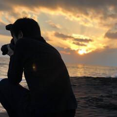 サンセット/稲村ヶ崎/夕日/海/カメラマン/カメラ/... 先日、カメラマンのお友達と稲村ヶ崎へ遊び…