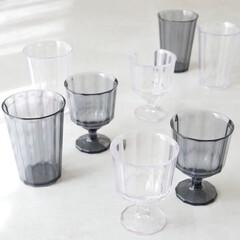 テーブルウェア/ホームパーティー/アウトドア用品/コップ/割れない/タンブラー/... エッジの効いたデザインと心地よい質感が魅…