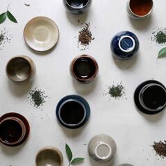 湯呑み/ティーセット/湯のみ/ゆのみ/カップ/お茶/... 丸いフォルムが特徴的な和モダンカップ&プ…