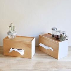 ideaco/見せる収納/インテリア小物/ティッシュボックス/ティッシュケース/キッチンペーパー 小物も置ける、ティッシュボックス  上蓋…