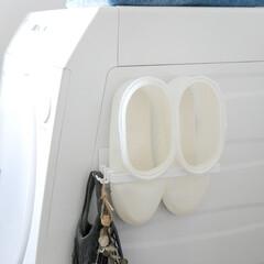 収納/サニタリー/整理収納/整理整頓/浴室・風呂/お風呂掃除 お風呂掃除に便利なバスブーツ、どこに収納…