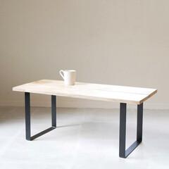 DIY女子/オリジナル/リビング/テーブル/DIY/暮らしを整える/... おしゃれな存在感を放つスクエア型のテーブ…