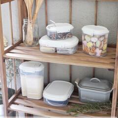 Sistema/見せる収納/整理整頓/整理収納/スタッキング/保存容器/... 安心で使いやすい、見た目も整うキッチンア…