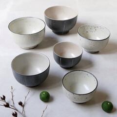 食器/食卓/器/ボウル/陶器/暮らしを整える/... 使うほど愛着のわく器  手に伝わる陶器の…