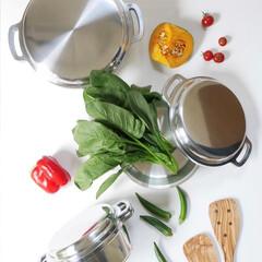 キッチン/無水調理/お料理/KING無水鍋/無水鍋/お鍋/... お鍋ひとつで台所がもっと楽しくなる  無…(1枚目)