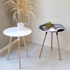 テーブル/ベッドサイド/飾り棚/サイドテーブル サイドテーブルで、快適でお洒落部屋に  …