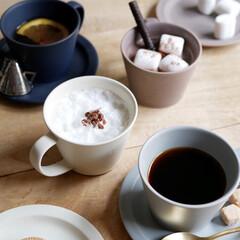 コーヒーカップ/ソーサー/おもてなし/ティータイム/おうちカフェ/おうち時間/... ゆったりと時間が流れる、くつろぎタイムに…(1枚目)
