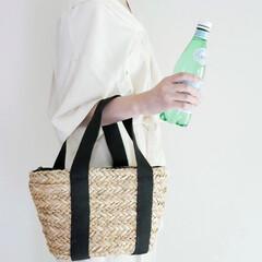 お洒落バッグ/かごバッグ/エコバッグ/お買い物バッグ/ランチバッグ/保冷バッグ/... クーラーバッグに見せないのがお洒落上級者…(1枚目)