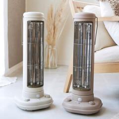 ブルーノ/レトロ家電/暖房/カーボンヒーター/家電/ファンヒーター/... 「カーボンヒーター」+「ファン」で効率よ…