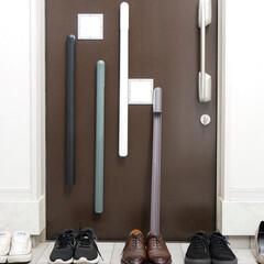 玄関収納/玄関インテリア/エントランス/玄関/靴べら/雑貨/... モダンなデザインとアイデア光る収納方法が…(1枚目)