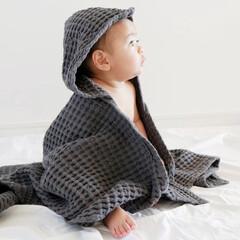 オーガニックコットン/おくるみ/タオル/ベビー用品/赤ちゃんのいる生活/暮らしを整える/... 赤ちゃんもママも心地いい暮らしに  オー…