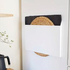 トレー/ランチョンマット/収納/整理収納/冷蔵庫収納/キッチングッズ/... \ランチョンマットをスマートに収納/ 収…
