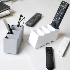 収納ケース/収納アイデア/整理整頓/整理収納/小物入れ/小物収納/... 「リモコン、ココです。」  家の中で見失…