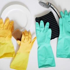 ゴム手袋/キッチン/浴室・風呂/掃除/大掃除/雑貨/... ご使用のゴム手袋に満足してますか❓  冬…