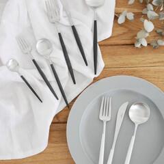 クチポールゴア/クチポール/食卓/テーブルコーディネート/カトラリー 美しさが目を惹くカトラリー  カジュアル…