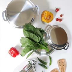 キッチン/無水調理/お料理/KING無水鍋/無水鍋/お鍋/... お鍋ひとつで台所がもっと楽しくなる  無…