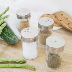 調味料収納/スパイスボトル/調味料ボトル/調味料入れ/雑貨/キッチン雑貨/... シンプルで賢い仕組みのスパイスシェイカー…