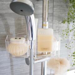 シャワー/お風呂/浴室・風呂/ナチュラルな暮らし/お気に入り/雑貨/... すっきり整う、快適なバスルーム  シャワ…