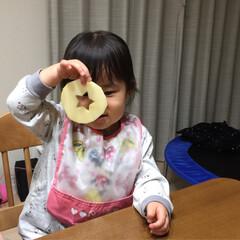 型抜き/林檎🍎/デザート 1枚目 eri〜さんの真似っこです🍎 2…(3枚目)