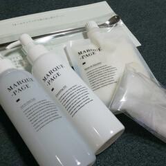 MARQUE-PAGE マルクパージュ クレンジング・洗顔・美容保湿ゲル 3セット | MARQUE-PAGE(スキンケアトライアルセット)を使ったクチコミ「モニター当選したぁ~♥  これから使って…」(1枚目)
