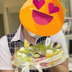 誕生日ケーキ 1年に1度の焼肉の日(829) そんな日…