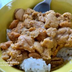 「今日のお昼は ウニ丼~(๑´ㅂ`๑)ŧ‹…」(1枚目)