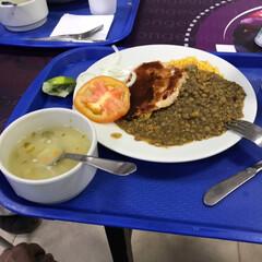ごはん コロンビアでの朝食