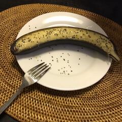 ごはん 焼きバナナ笑(2枚目)