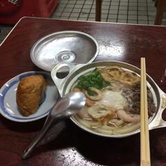 ごはん 松山のソールフード 鍋焼きうどん 暖まり…(4枚目)