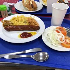 ごはん コロンビアでの朝食(2枚目)
