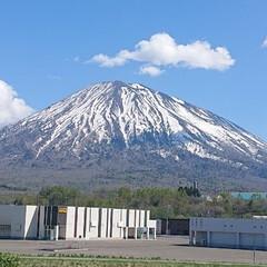 風景写真 今日の羊蹄山