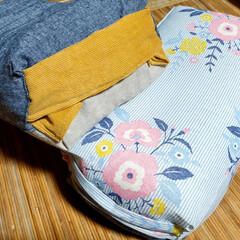 パイプ枕/オットマン/セリア/100均/DIY/雑貨/... 先日作ったパイプ枕のオットマン、2歳の姪…