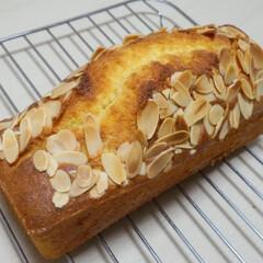 パウンドケーキ/ホームメイド/手作りおやつ/アーモンド 手作りおやつ  アーモンドパウンドケーキ…