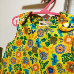 女の子/ワンピース/チュニック/ベビー服/手芸/ハンドメイド ベビー服 チュニックワンピースを作りまし…(2枚目)