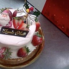 スポンジケーキ/タルト/ダマンド生地/イチゴ♪/スイーツ 過去の作品  クリスマスケーキ