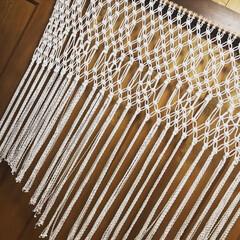 マクラメ編み/ハンドメイド/マクラメ/マクラメタペストリー/手作り マクラメタペストリーってよりマクラメカー…