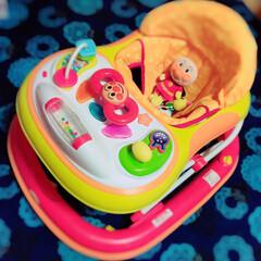 それいけ!アンパンマン おしゃべりウォーカー / エムアンドエム(歩行器)を使ったクチコミ「6ヶ月の息子の歩行器😍  ままが買ってく…」