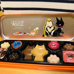 ミシン/猫/チョコレート/バレンタイン 今日、スーパーのバレンタインコーナーで …(5枚目)