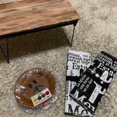 セリア/ミニテーブル/ピクニック/フェス/すのこ/100均/... LIMIAで見たミニテーブルを作りました…