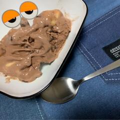 ケーキピック/手作りアイス/おやつ作り/おやつ/アイス/ダイソー ハロウィンで余ったケーキピック。 スーパ…